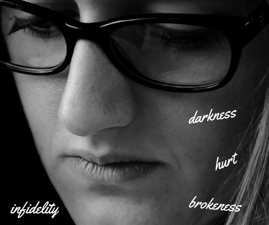 infidelity, sadness